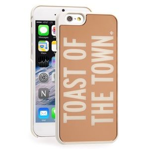 New Kate Spade Rose Gold 6/6s Case